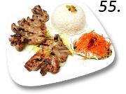 55- Jasmine Rice With Grilled Chicken