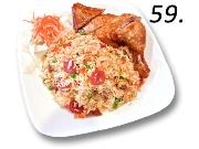 59- Fried Rice Chicken Leg